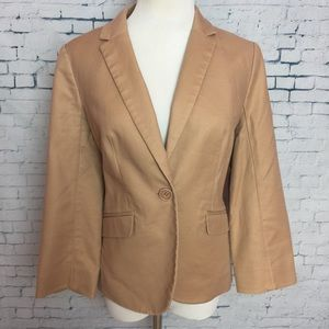 The Limited Womens Size M Tan Button Front Jacket